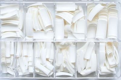 Типсы белые френч (500 шт)