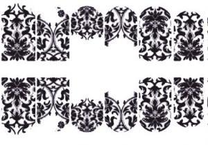 167  Слайдер-дизайн фольг-й серебро песок