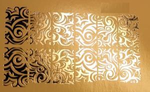 193  Слайдер-дизайн фольг-й серебро волна