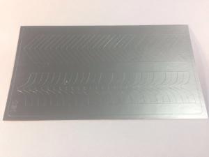 131 Слайдер-дизайн металлизированный серебро