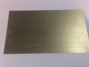 136 Слайдер-дизайн металлизированный золото