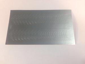 136 Слайдер-дизайн металлизированный серебро