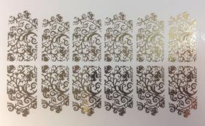 54  Слайдер-дизайн фольг-й золото