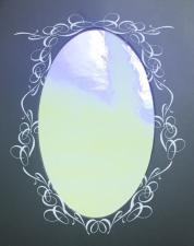 Фольга битое стекло на клеевой основе (жемчужная)