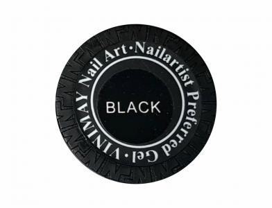 Гель паутинка черная