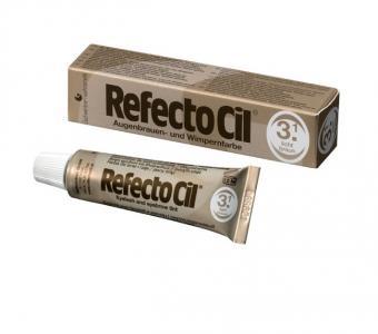 Краска RefectoCil для бровей и ресниц №3 Светло-Коричневая 15мл