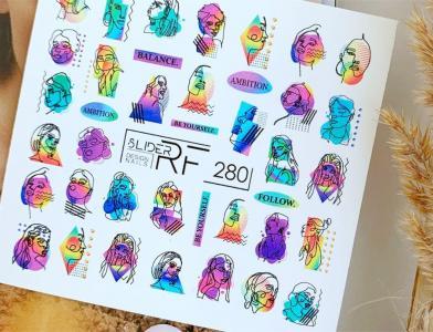 280 Слайдер-дизайн RF