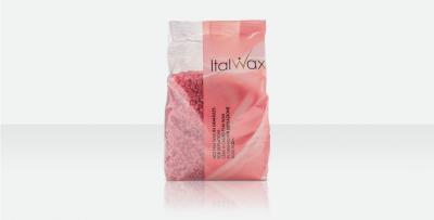 Воск ITALWAX горячий (пленочный) гранулы Роза 1000гр