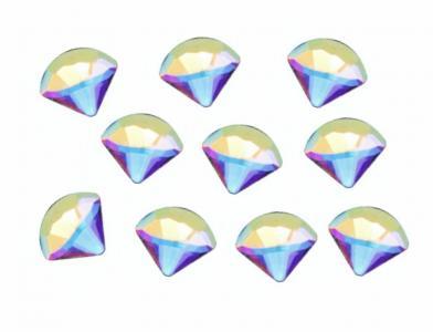 Стразы крупные алмаз голография (10шт)