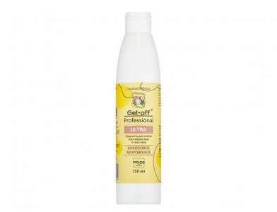 Жидкость для снятия лака и гель-лака Кокосовое мороженое Ultra