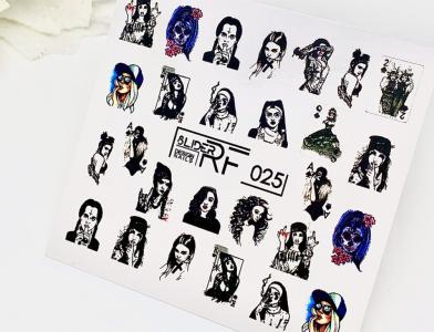 025 Слайдер-дизайн RF