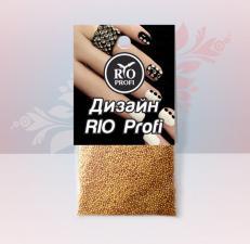 Бульонки металл (золото) RIO PROFI
