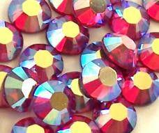 Стразы стекло (красные)  SS4 (100 шт)