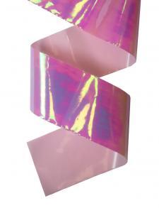 Фольга битое стекло (розовый)