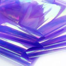 Фольга битое стекло (фиолетовый) 1метр