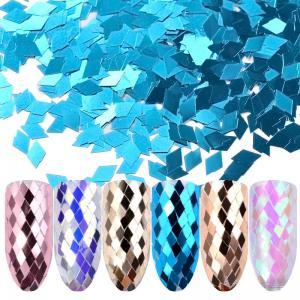 Ромбики для дизайна ногтей в ассортименте