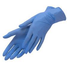 Перчатки нитриловые S штучно