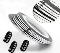 Фольга тонкая лента (серебро)