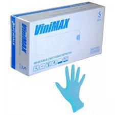 Перчатки виниловые S (100шт)