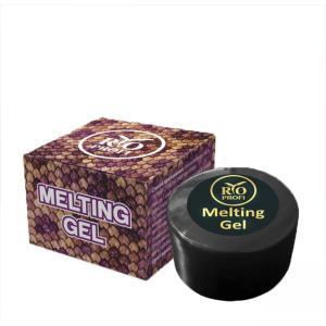 Гель краска с эф. Змеиной кожи Melting Gel №4 серебро RIO PROFI 7 гр