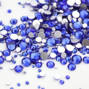 Стразы стекло (сапфир)   SS 5 (100 шт)  Sapphire (006)