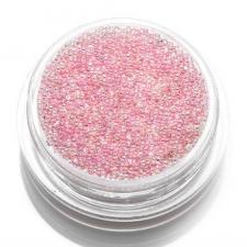 Бульонки прозрачные розовая голография 3,5гр