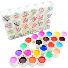 Гель - краска набор 24 цветов