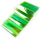 Фольга битое стекло зеленый (1м)