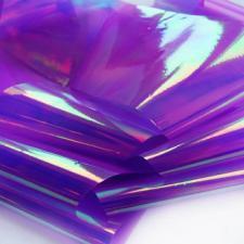 Фольга битое стекло фиолетовый (1м)