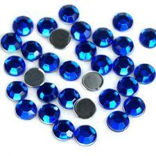 Стразы стекло (сапфир)   SS 3 (100 шт)  Sapphire (006)