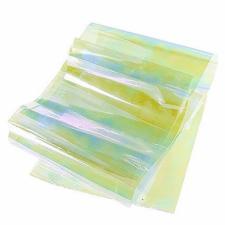Фольга битое стекло жемчужный с переливом (1м)