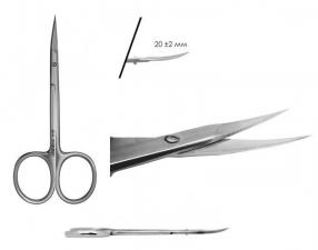 Ножницы для кутикулы (19-21мм) S3-11-21 (Н-09)