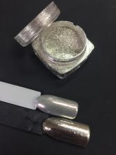 Зеркальная втирка Призма хром Voyagе 5014 Chrome holographic