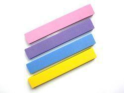 Блок (бафф) для шлифовки ногтей прямой широкий