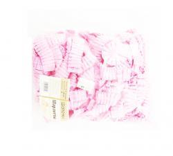 Шапочка-берет шарлотта из неткан. розовая 100шт
