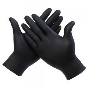 Перчатки нитриловые черные S (100шт)