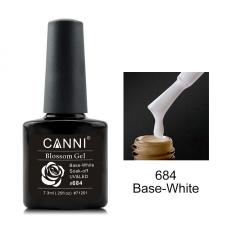 684 CANNI Blossom gel 7,3ml (белая основа для растекания)