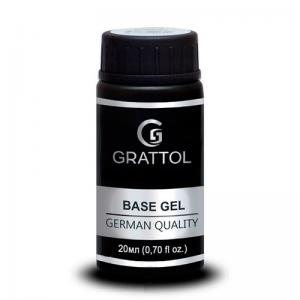 База каучуковая Grattol IQ Rubber Base Gel 20ml