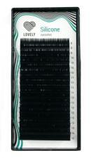"""Ресницы черные Lovely Silicone""""-20 линий MIX (С+ 0.10 8-15мм)"""""""