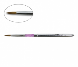 Кисть для акрила № 8 (металл ручка)