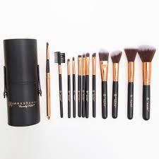Набор кистей для макияжа Anastasia 12 штук в тубе
