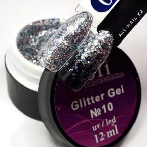 10 Glitter Gel  Joli Professional 12ml