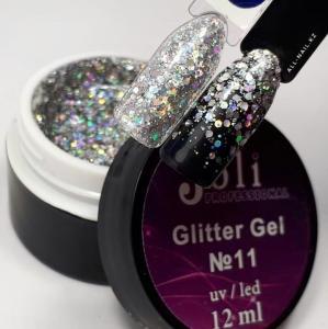 11 Glitter Gel  Joli Professional 12ml