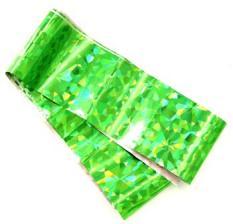 Фольга переводная зеленая голография 1м