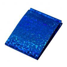 Фольга переводная синяя голография 1м