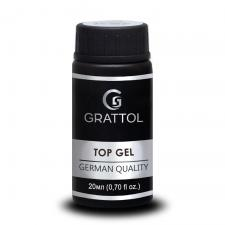 Топ без липкого слоя Grattol No Wipe Top Gel 20ml