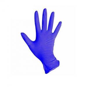 Перчатки нитрил MediOk (васильковые) S 100шт