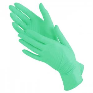Перчатки нитрил MediOk (зеленые) М 100шт