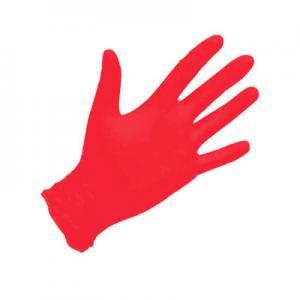 Перчатки нитрил MediOk (красные) S 100шт
