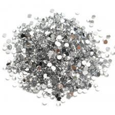Стразы стекло (белые) SS4 (1440 шт)